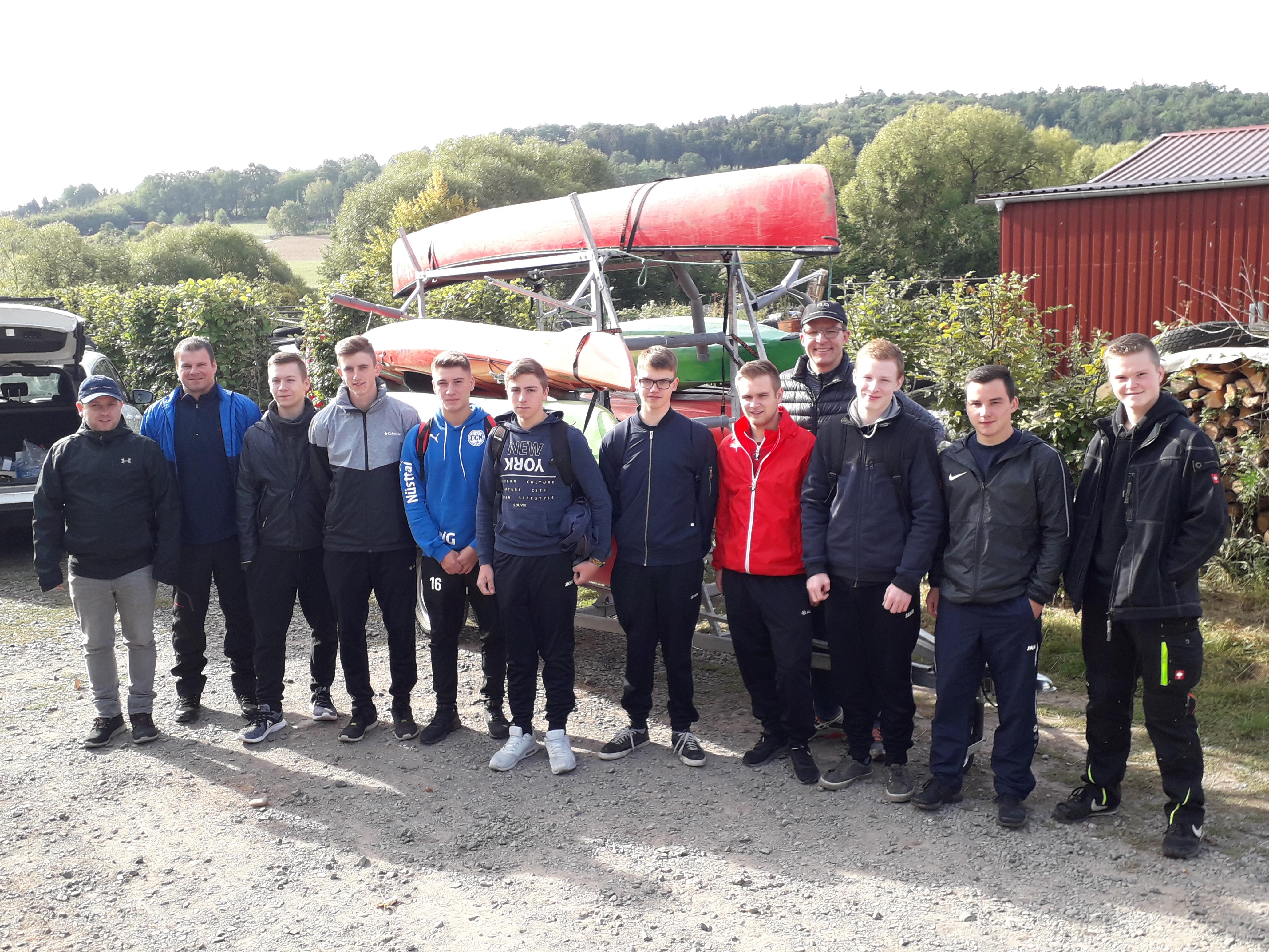 Teamevent zum Ausbildungsstart auf der Fulda