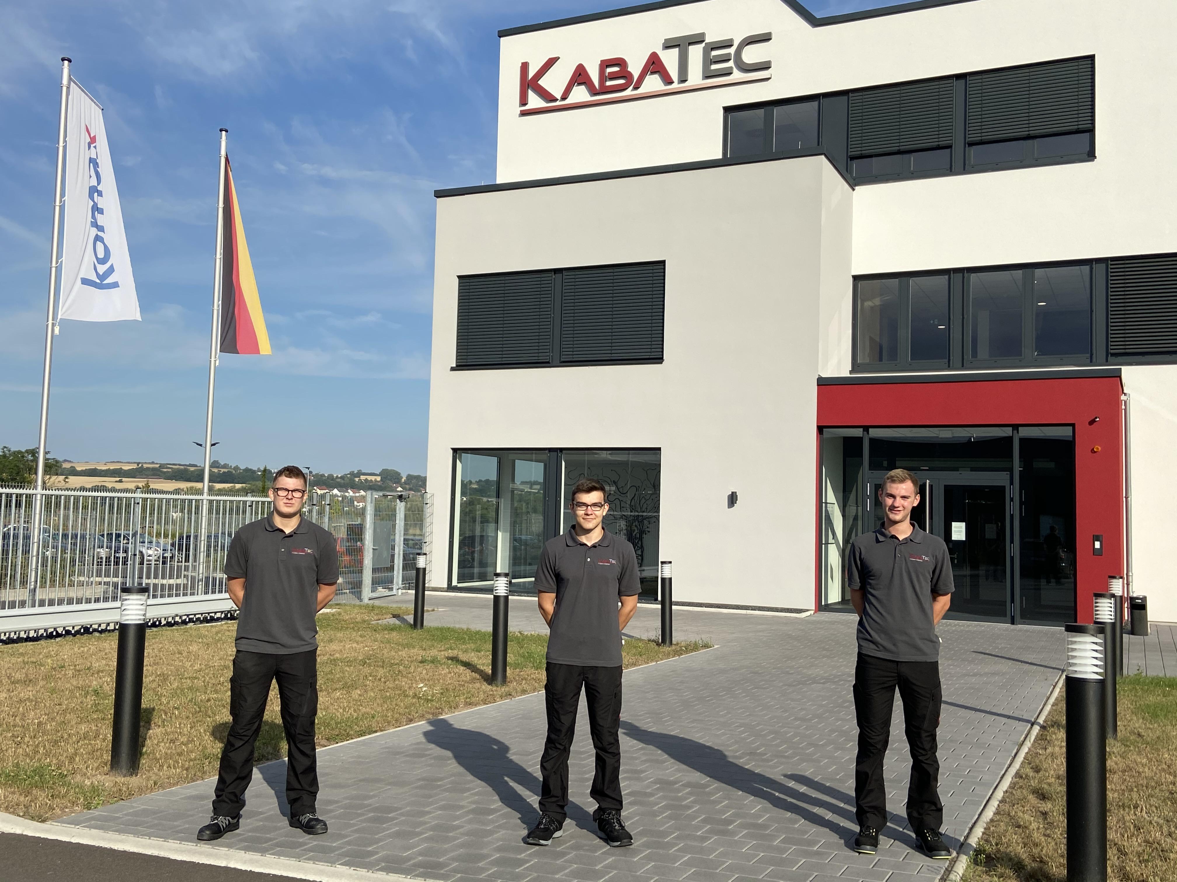 Ausbildungsstart bei KABATEC