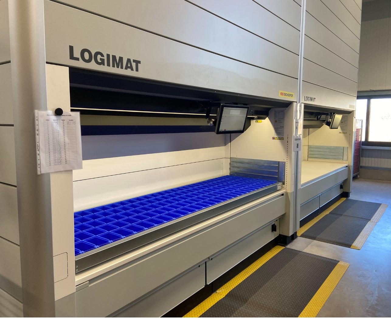 KABATEC Warehouse System – Logimat