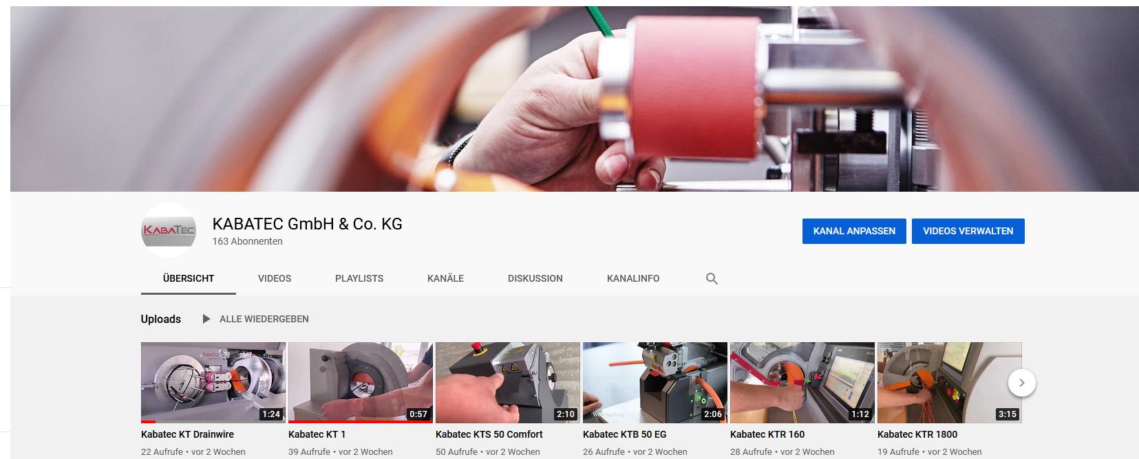 Besuchen Sie unseren neuen YouTube-Kanal!