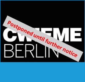 CWIEME Berlin 26.05. - 28.05.2020